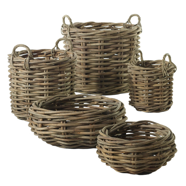 "Basket - Cabana Bowl Natural 24""x9.75"""