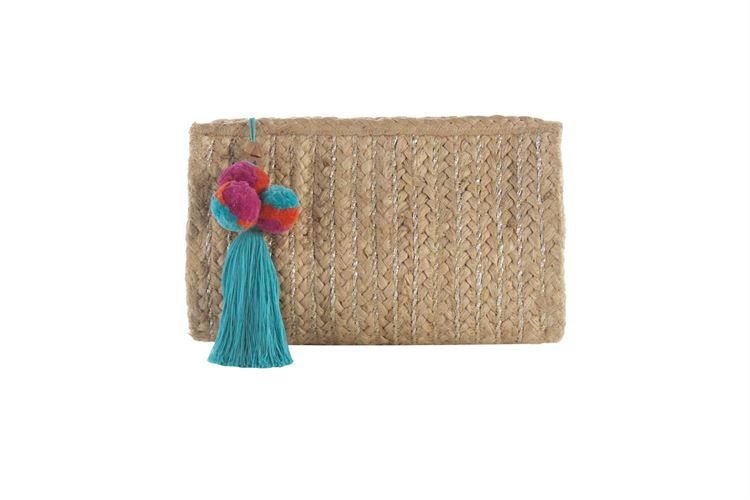 Clutch Purse with Tassle