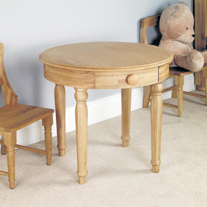 Amelie Oak Childrens Play Table