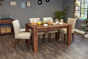 Walnut 150cm Dining Table (4/6 Seater)