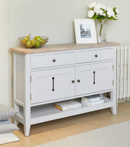 Signature Small Sideboard / Hall Console Shoe Storage Table
