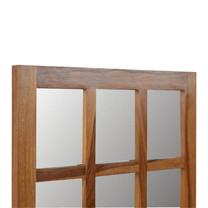 Solid Sheesham Wood Mirror