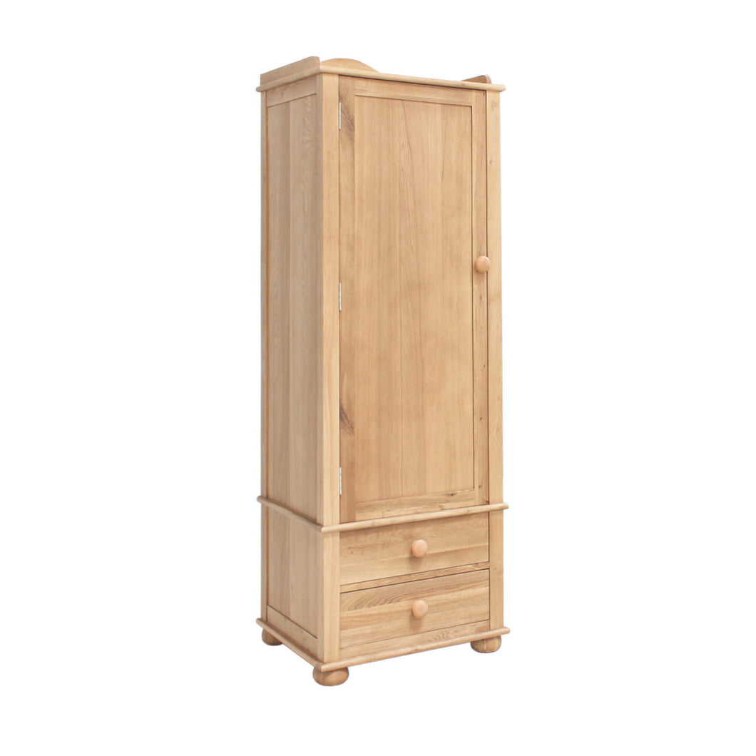 Amelie Oak Childrens Single Wardrobe