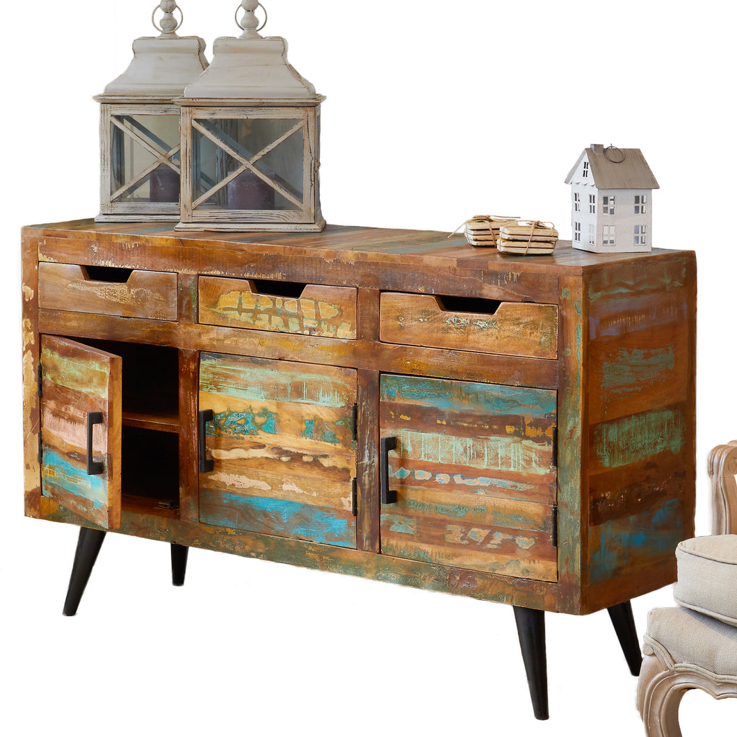Coastal Chic Large Sideboard