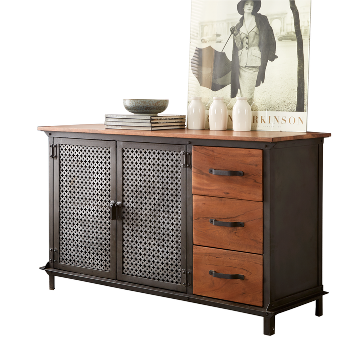 Evoke 3 drawer sideboard