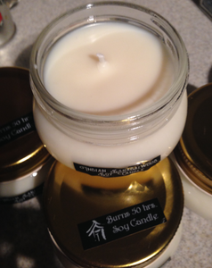Candle Soy Wild Rose 8 oz - Brutal Honesty Apothecary