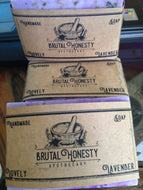 Handcrafted Soaps Lovely Lavender - Brutal Honesty Apothecary