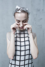 Checkered Dress - Tenos women