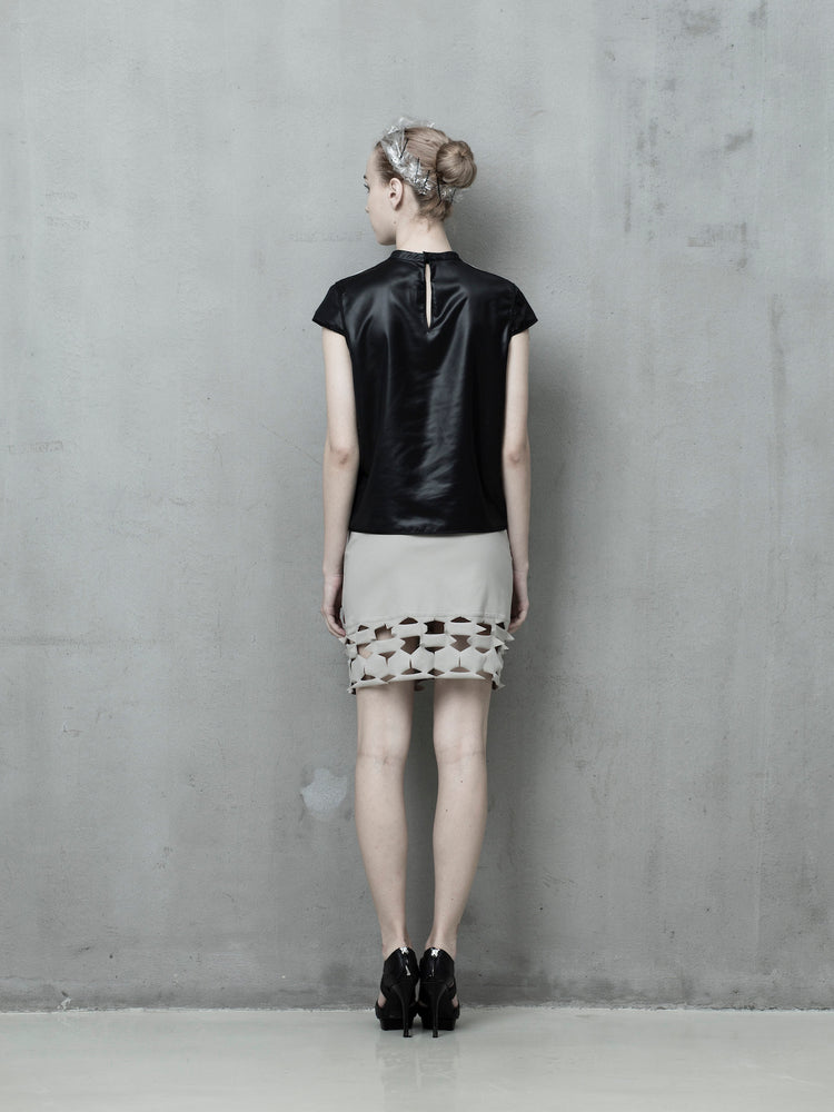 Monochrome shirt - Tenos women