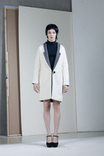 Dual Colour Coat - Tenos women