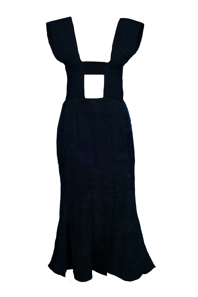 Dress with an elastic band - Tenos women