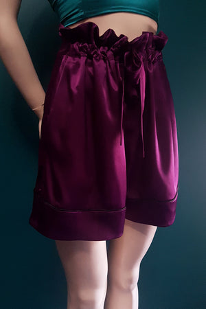 Persephone - Satin Lounge Shorts