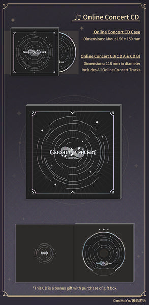 GENSHIN CONCERT 2021 Melodies of an Endless Journey Gift Box
