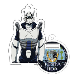 [My Hero Academia] Heroes&Villains Pattern and Color Acrylic Key Chain 19. Tenya Iida - Character Goods