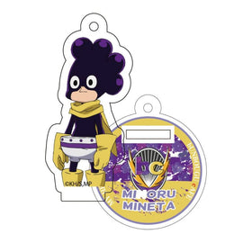 [My Hero Academia] Heroes&Villains Pattern and Color Acrylic Key Chain 19. Minoru Mineta - Character Goods