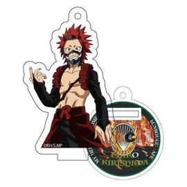 [My Hero Academia] Heroes&Villains Pattern and Color Acrylic Key Chain 23. Eijiro Kirishima - Character Goods