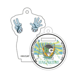[My Hero Academia] Heroes&Villains Pattern and Color Acrylic Key Chain 17. Tofu Hagakure - Character Goods