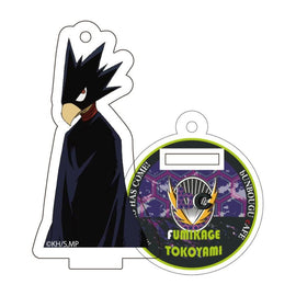 [My Hero Academia] Heroes&Villains Pattern and Color Acrylic Key Chain 21. Fumikage Tokoyami  - Character Goods
