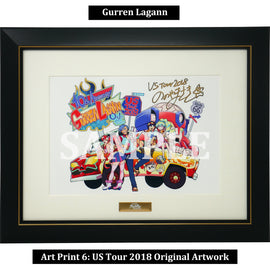 [Gurren Lagann] Art Print 6: US Tour 2018 Original Artwork by Nonoyamasaki - Fine Arts