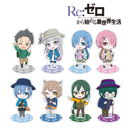[Re: life in a different world from zero] Trading Chibi Character Acrylic Stand - Blind Box