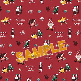 [Demon Slayer] Yuru Palette vol.2 Clear File Folder - Clear File