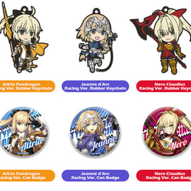 [GOODSMILE RACING] GOODSMILE RACING & TYPE-MOON RACING Nendoroid Plus Collectible Rubber Keychains & Badges - Blind Box