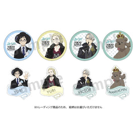 [Yuri!!! on ICE] Acrylic Keychain - Paper badge collection