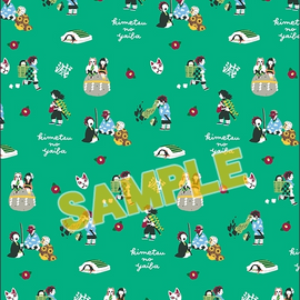 [Demon Slayer] Yuru Palette vol.1 Clear File Folder - Clear File