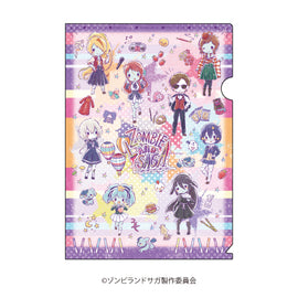 [Zombie Land Saga] Clear File 02 All-cast Zombie Ver. - Character Goods