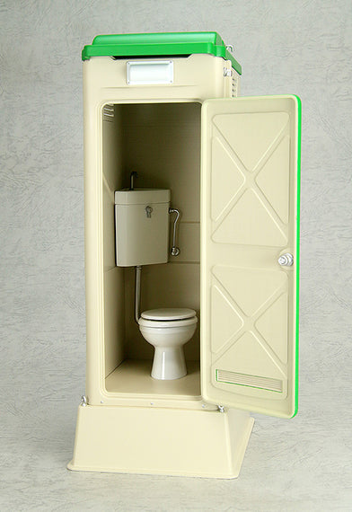 [Mabell Original Miniature Model Series] 1/12 Scale Portable Toilet TU-R1W