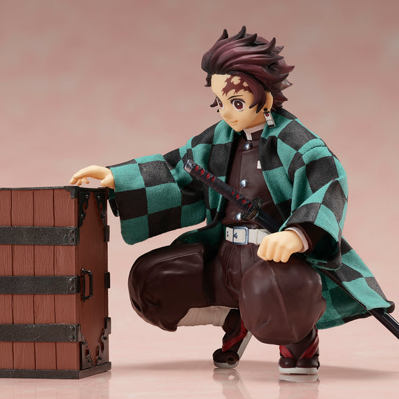 [Demon Slayer: Kimetsu no Yaiba] BUZZmod. Tanjiro Kamado - 1/12 Scale Action Figure