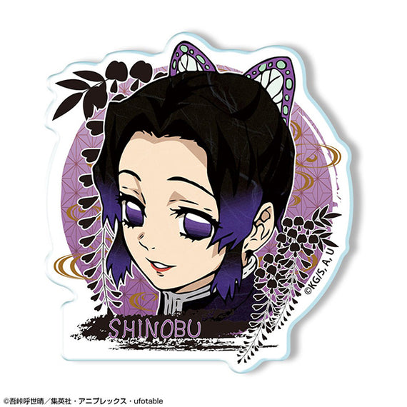 [Demon Slayer] Acrylic Badge Ver. 2: 01 Shinobu Kocho - Character Goods