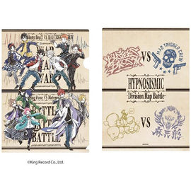 [Hypnosis Mic -Division Rap Battle-] File Folders 02. vs design /Graff Art - Clear File