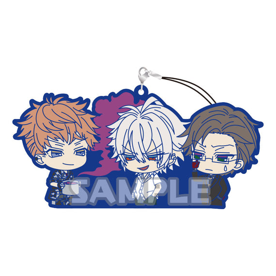 [Hypnosis Mic -Division Rap Battle-] Rubber Charms -RICH series- Mad Trigger Crew - Character Goods