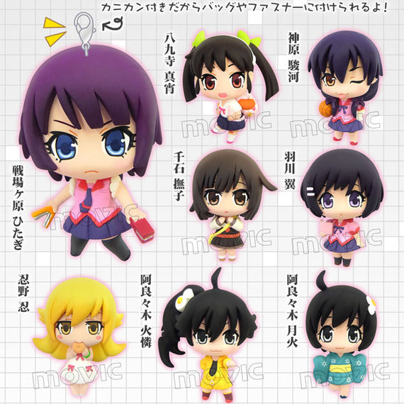 [Monogatari Series] Karakore Mascot Collection - Blind Box