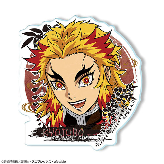 [Demon Slayer] Acrylic Badge Ver. 2: 02 Kyojuro Rengoku - Character Goods