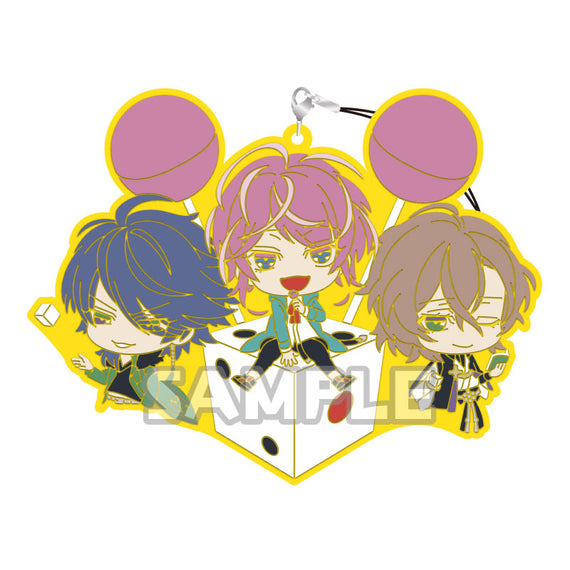 [Hypnosis Mic -Division Rap Battle-] Rubber Charms -RICH series- Fling Posse - Character Goods