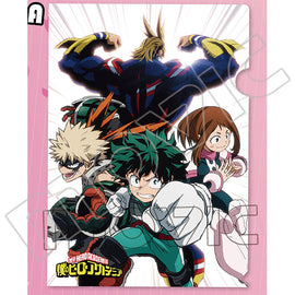[My Hero Academia] Clear File Folder A - Clear File