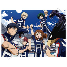[My Hero Academia] Clear File Folder - Clear File