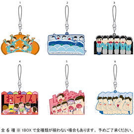 [Osomatsu-san] Big Rubber Strap Collection - Blind Box