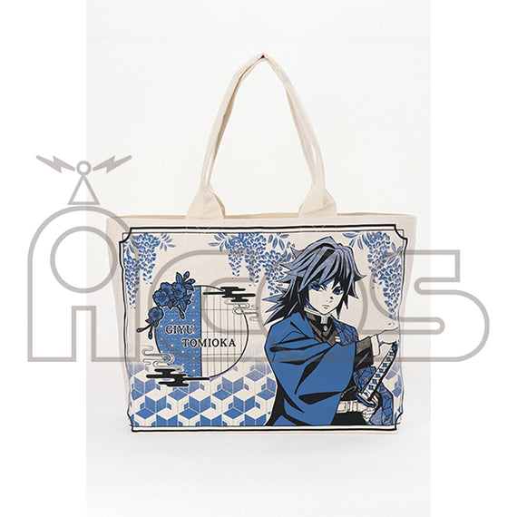 [Demon Slayer] Big Tote Bag Giyu Tomioka - Character Goods