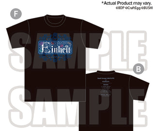 [BanG Dream! Girl's Band Party!]8th☆LIVE T-Shirts「Einheit」M, L, XL Size  - Character Goods