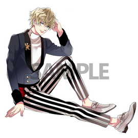 [Ikemen Vampire] Acrylic Stand - Fashion Collection 2019 Vincent