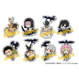 [Demon Slayer] Diecut Sticker Set Carried by Kasugai Crows vol.2 - Character Goods