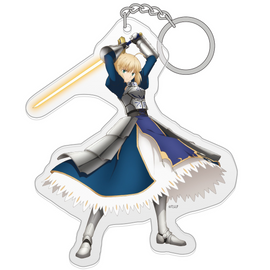 [Fate/stay night Heaven's Feel] Saber Acrylic key chain - Character Goods