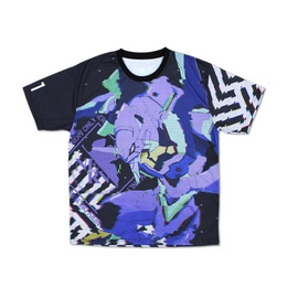 [Neon Genesis Evangelion] Unit-01 Double sided Full Graphic T-shirt L/XL - Character Goods