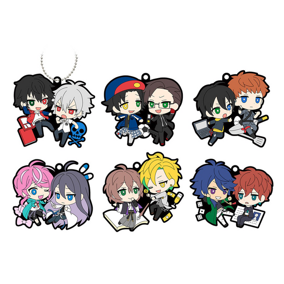 [Hypnosis Mic -Division Rap Battle-] Rubber Mascot BuddyCollec VS ver. - Blind Box