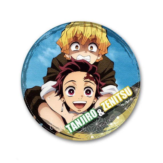 [Demon Slayer] Leather Badge Ver.2 Design 14 Tanjiro & Zenitsu - Character Goods