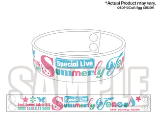 [BanG Dream! Girl's Band Party!]8th☆LIVE Rubber Band 「Special Live 〜Summerly Tone♪〜」- Character Goods