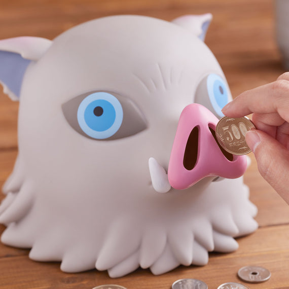[Demon Slayer: Kimetsu no Yaiba] Inosuke piggy bank - Character Goods